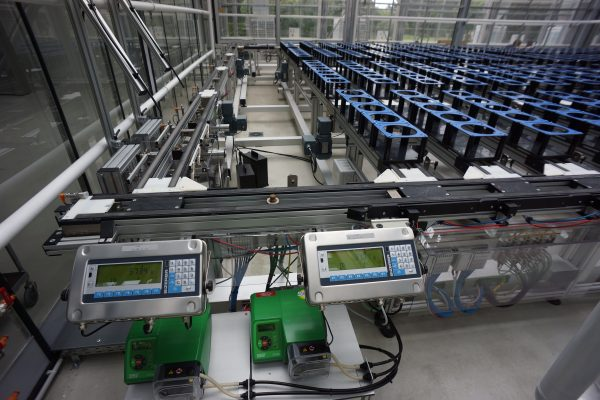 Conveyor Scanalyzer with Weighing/Watering Units