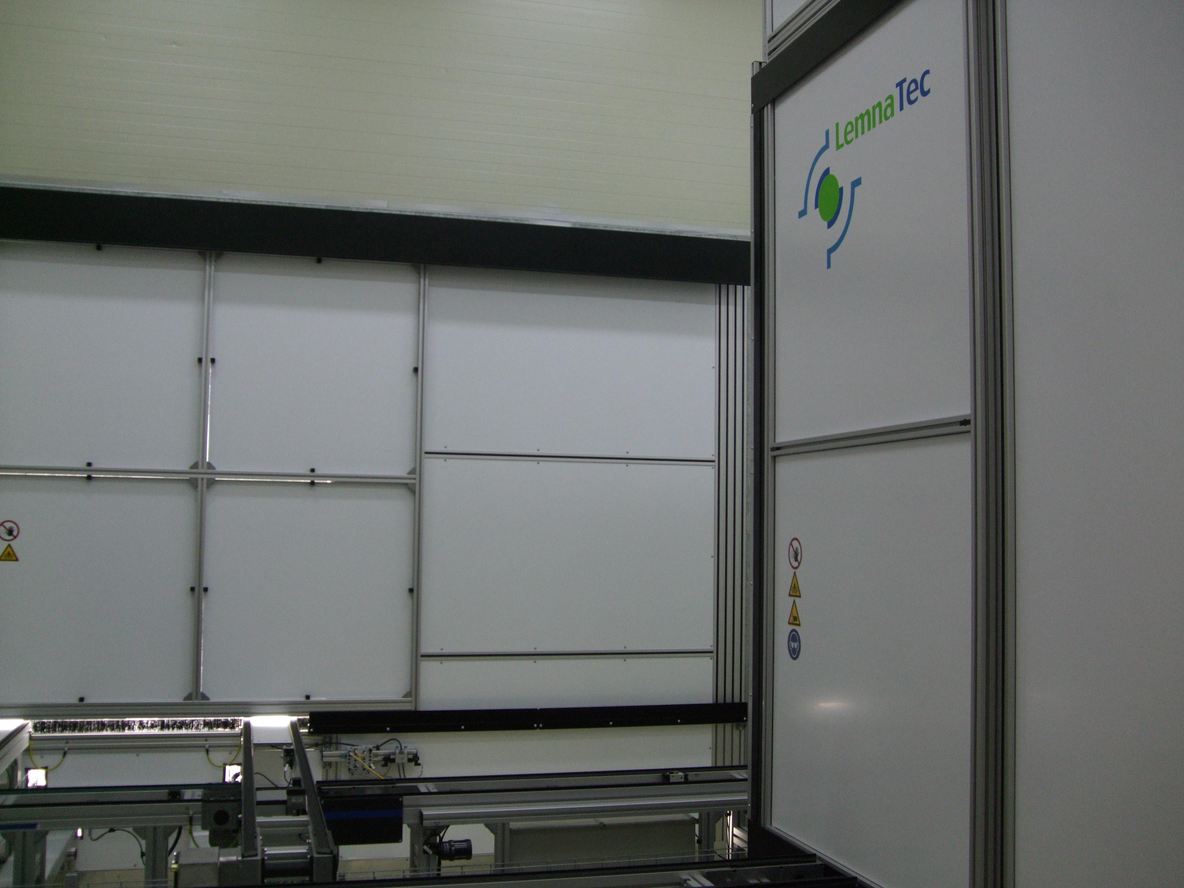 LemnaTec Conveyor Scanalyzer at NAAS, Jeonju, Korea