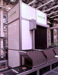 Growscreen Rhizo imaging cabinet and rhizotron carriers