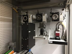 Laser Scanner, Camera, PAM Camera in PhenoCenter