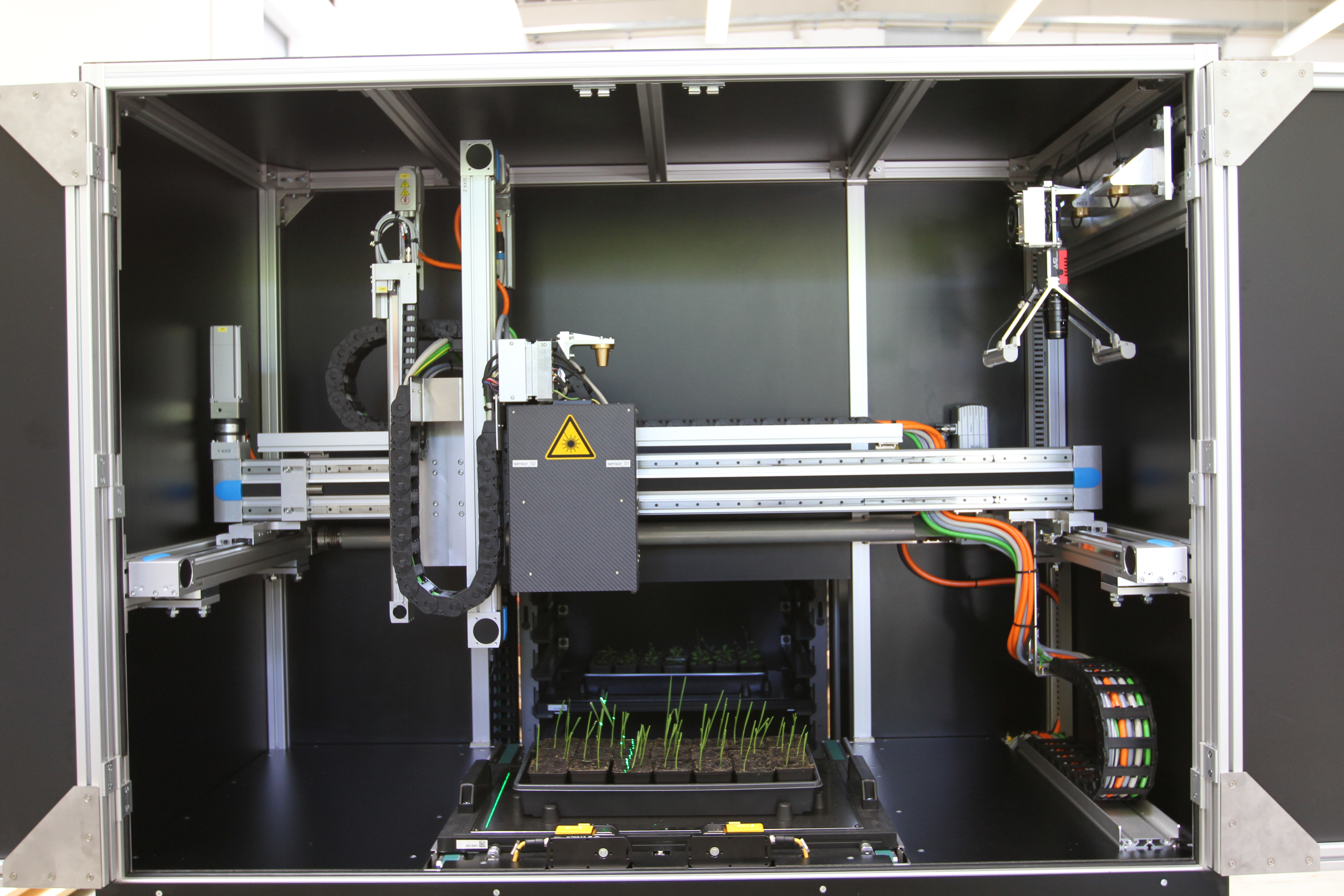 Laser Scanning in PhenoCenter